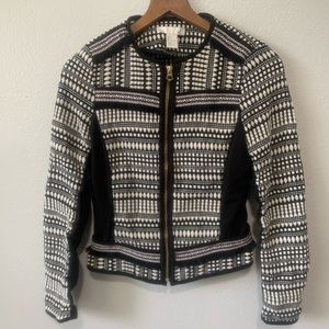 H&M Aztec Patterned Zip-up Jacket